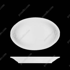Melodie Блюдо овальне Акція біле 320 х225 мм (G.Benedikt)