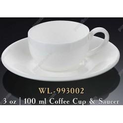Wilmax Чашка для кави з блюдцем 100 мл (Wilmax)