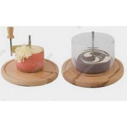 Grater Тертка для сира та шоколаду, жироль d-220 мм, h-150 мм (APS)
