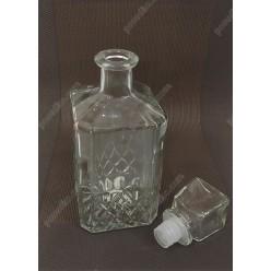 Krist Карафа для міцного алкоголю з корком 500 мл (EverGlass)
