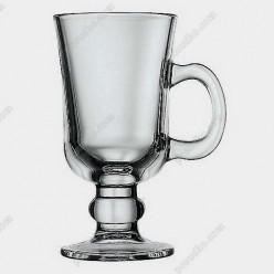 Irish glass Чашка на ніжці ручка на чаші 230 мл (Pasabahce)