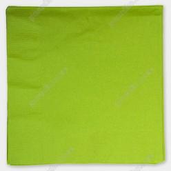 Napkin Серветка паперова тришарова салатова 330 х330 мм (PapStar)