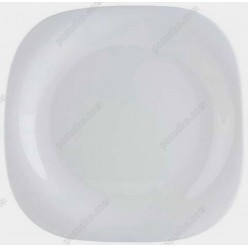 Carine Тарілка квадратна без кутів мілка біла 265 х265 мм (Luminarc, France)