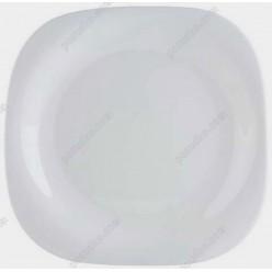 Тарелка квадратная без углов мелкая Carine