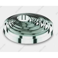 Кільце гарнірне Форма для формовки та випічки кругла d-100 мм, h-45 мм 350 мл (Lacor)