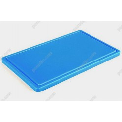 Board plastic 20 Дошка розробна з жолобом блакитна 400 х300х20 мм (Durplastics)