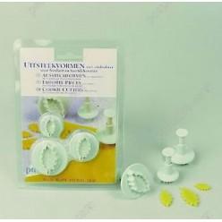 Confectioners Штамп для висічки листок, набір 40 х30 мм (Patisse)