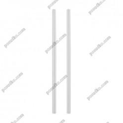 Martini Трубочки прямі овальні мікс кольорів d-3 мм, L-127 мм (Інші бренди)