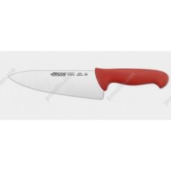 2900 Ніж кухарський, шеф червона ручка L-335 мм (Arcos)
