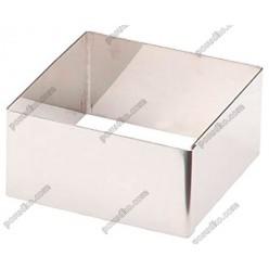 Кільце гарнірне Форма для формовки та випічки квадратна 80 х80 мм, h-40 мм 250 мл (Lacor)