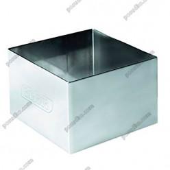 Кільце гарнірне Форма для формовки та випічки квадратна 60 х60 мм, h-45 мм 160 мл (Ibili)