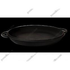 Чавун термо Кришка-сковорідка з 2 ручками d-300 мм, h-35 мм (Ситон)