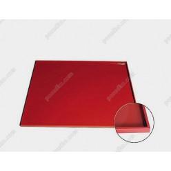 Професійний силікон Лист для випічки з бортиком теракотовий темний 546 х352 мм, h-8 мм (Silikomart)