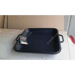Чавун термо Кришка-сковорідка з 2 ручками квадратна 280 х280 мм, h-40 мм (Ситон)