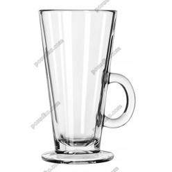 Irish glass Чашка конус з ручкою на чаші Acapulco d-80 мм, h-150 мм 280 мл (Libbey)