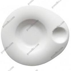 Orbe Тарілка фігурна у формі капелюха з заглибленням 270 х240 мм, h-45 мм 400, 50 мл (Porvasal)
