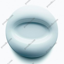 Orbe Тарілка кругла у формі капелюха овал d-270 мм, h-40 мм 600 мл (Porvasal)