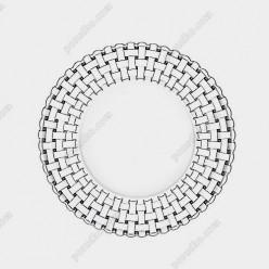 Bossa nova Тарілка кругла мілка d-230 мм (Nachtmann)