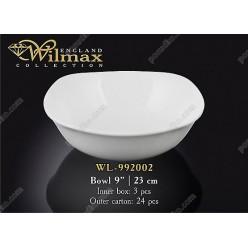 Wilmax Салатник d-230 мм, h-70 мм 1,6 л (Wilmax)