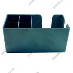 Барне приладдя Організатор барний на 6 відділень сріблястий 240 х140 мм, h-110 мм (The bars)
