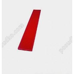 Спіл-стоп Килимок барний гумовий вузький червоний 700 х100 мм (The bars)