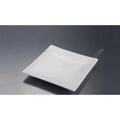 Alt porcelain Тарілка квадратна без поля мілка 150 х150 мм (Alt porcelain)