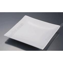 Alt porcelain Тарілка квадратна без поля мілка 355 х355 мм (Alt porcelain)