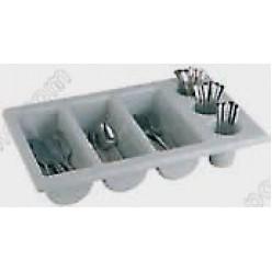 Емкость для столовых приборов 3+3 белая Serving