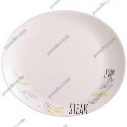 Bistrot Блюдо овальне для стейку color 300 мм (Luminarc, France)