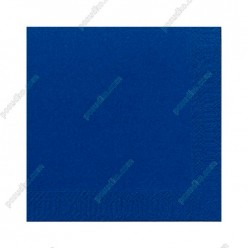 Napkin Серветка паперова тришарова синя 330 х330 мм (PapStar)