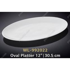Wilmax Блюдо овальне без поля 305 х215 мм (Wilmax)
