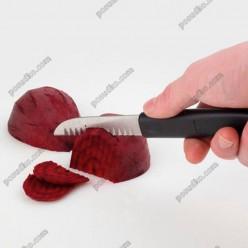 Carving knife Ніж для нарізки з боріздками L-190 мм (APS)