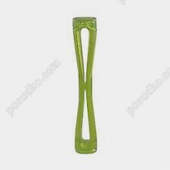 Барний товкачик Мадлер XXL двохсторонній fluo зелений L-300 мм (The bars)