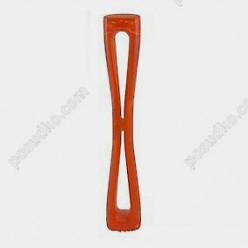 Барний товкачик Мадлер XXL двохсторонній fluo помаранчевий L-300 мм (The bars)