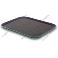 Таця Піднос з антиковзаючим покриттям прямокутний коричневий 460 х360 мм (Lacor)