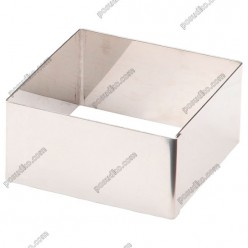 Кільце гарнірне Форма для формовки та випічки квадратна 60 х60 мм, h-40 мм 140 мл (Lacor)