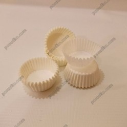 Тарталетка Форма паперова для випічки кругла біла d-30 мм, h-16 мм (Україна)