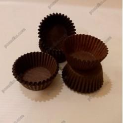 Тарталетка Форма паперова для випічки кругла коричнева d-35 мм, h-20 мм (Україна)