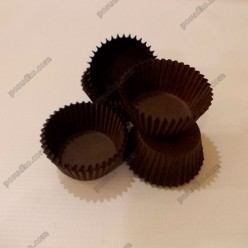 Тарталетка Форма паперова для випічки кругла коричнева d-40 мм, h-24 мм (Україна)