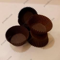 Тарталетка Форма паперова для випічки кругла коричнева d-45 мм, h-30 мм (Україна)