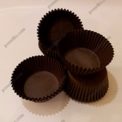Тарталетка Форма паперова для випічки кругла коричнева d-50 мм, h-30 мм (Україна)