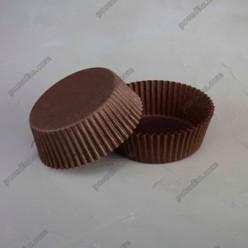 Тарталетка Форма паперова для випічки кругла коричнева d-60 мм, h-27 мм (Україна)