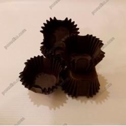 Тарталетка Форма паперова для випічки квадратна коричнева 30 х30 мм, h-30 мм (Україна)
