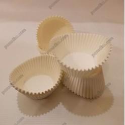 Тарталетка Форма паперова для випічки човник біла d-50 мм, h-30 мм (Україна)