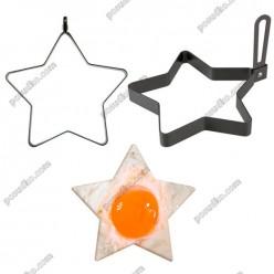 Moka Форма для яєчні з ручкою зірка 130 мм, h-15 мм (Ibili)