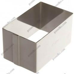 Кільце гарнірне Форма для формовки та випічки прямокутник 80 х50 мм, h-45 мм 180 мл (Ibili)