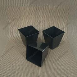 Appetizers Піала фуршетна піраміда чорна 45 х45 мм, h-60 мм 60 мл (Україна)