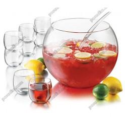 Set Чаша для пуншу, 8 чашок, черпак набір d-292 мм, h-250 мм 12,8 л (Libbey)