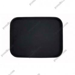 Таця Піднос з антиковзаючим покриттям прямокутний чорний 450 х360 мм (Winco)
