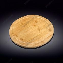 Wilmax bamboo Дошка для сервіровки кругла d-305 мм (Wilmax)